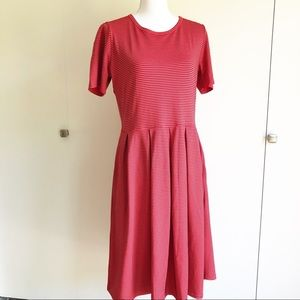 LuLaRoe Amelia dress with pockets. XL